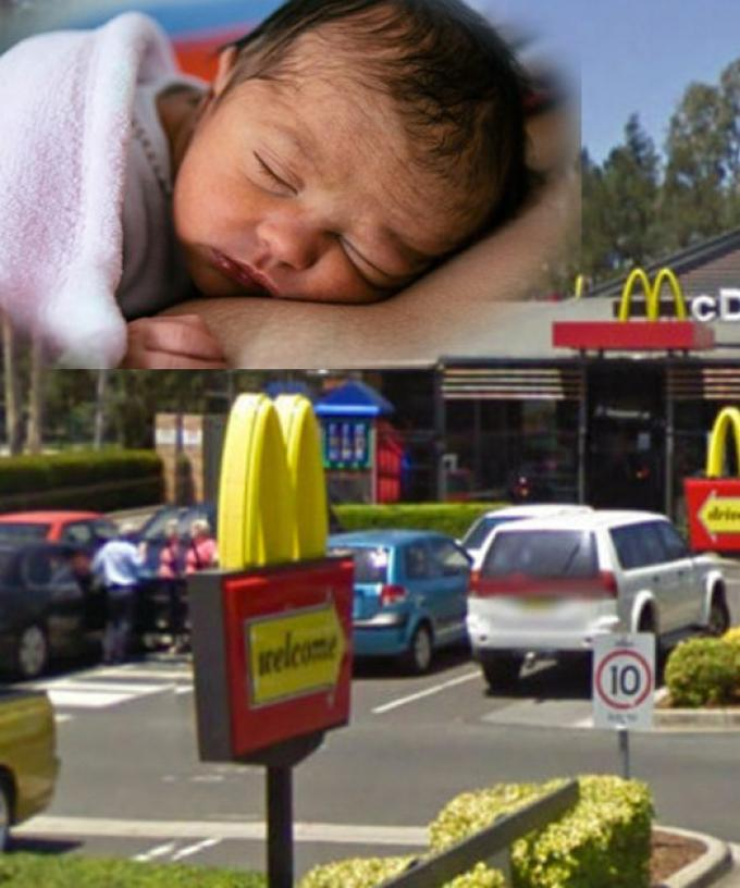 A Melbourne Woman Has Given Birth In A McDonald's Carpark