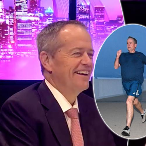 Bill Shorten Reacts To People Teasing His Running Style