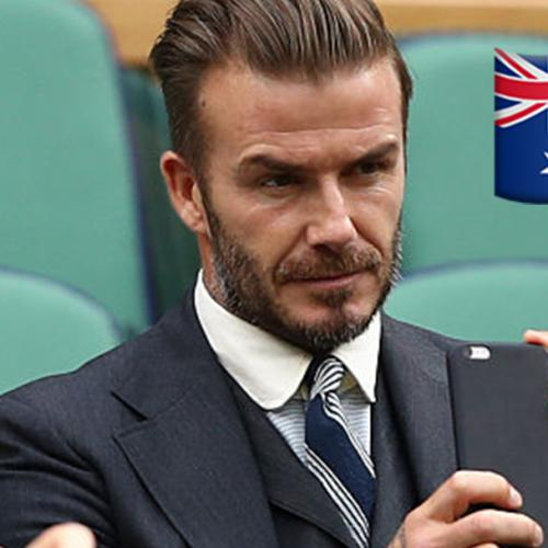 Did You See The Aussie Vomiting In David Beckham's Ig Story?