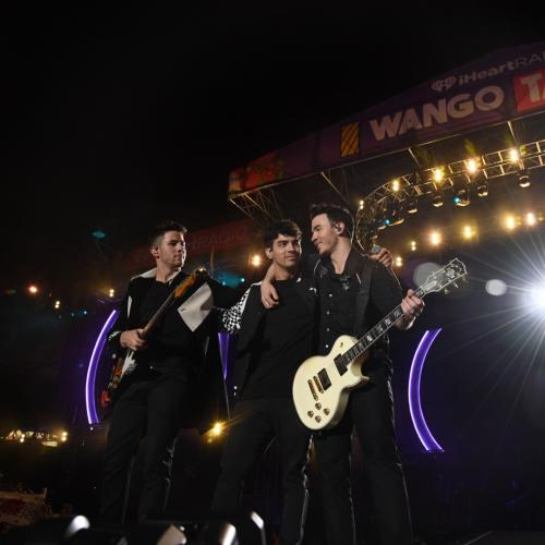 Jonas Brothers Return To The iHeartRadio Wango Tango Stage