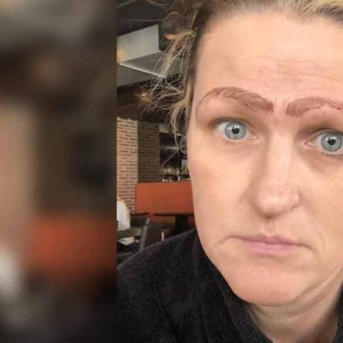 Botched Microblade Treatment Leaves Woman With Four Brows