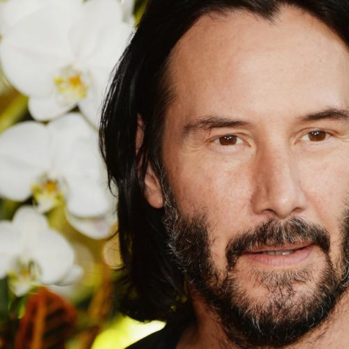 Keanu Reeves Takes Charge Of His United Flight