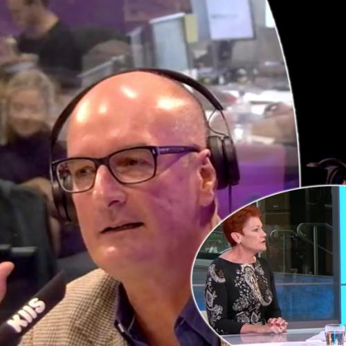 Kochie Discusses Interview During Pauline Hanson Interview