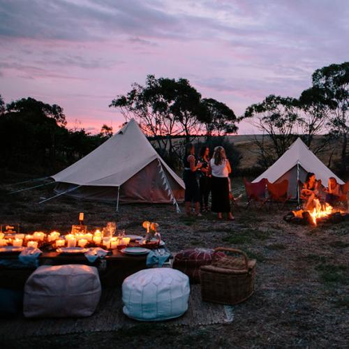 The Best Spots Around Melbourne To Go Glamping
