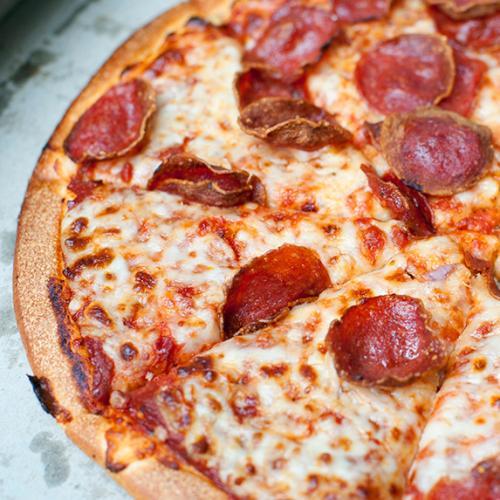 Mum Uses Pizza To  Mark Son's Age Milestones & Hello Goals!