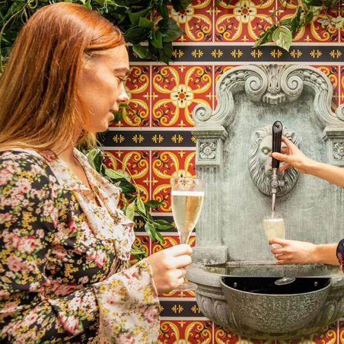 This Prahran Bar Is Getting A Bottomless Prosecco Fountain