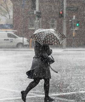 Rain Set To Fall Across The East Coast Of Australia Today