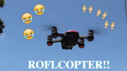 Introducing the ROFLCOPTER!