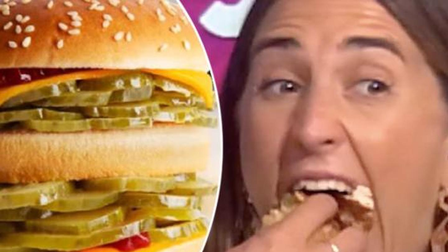 Lucky Radio Host Got To Try McDonald's McPickle Burger