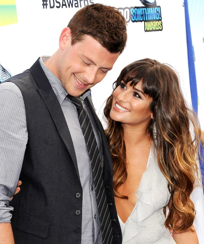 lea michele and cory monteith dating april 2012