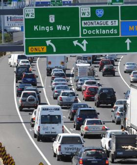 Collision On The West Gate Freeway Causing Nightmare Delays Already