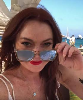 Lindsay Lohan Hints At Opening A Beach Club In Australia