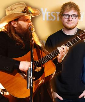 Ed Sheeran Teases Bruno Mars & Chris Stapleton Collaboration