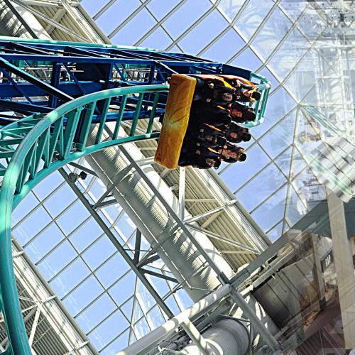 Shopping Centre With Rollercoasters Could Be Coming