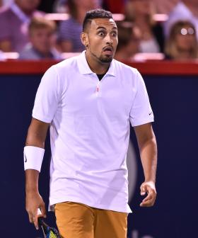 """""""Absolute Rubbish!"""": Nick Kyrgios Verbally Abuses And Spits Towards Umpire"""