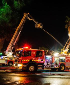 Melbourne Man Fighting For Life After Suspicious Fire And Suspected Burglary