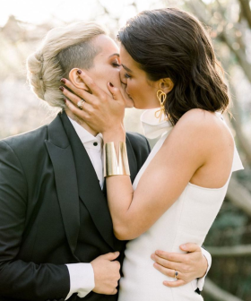AFLW Star Moana Hope Marries Model Isabella Carlstrom In An Intimate Ceremony