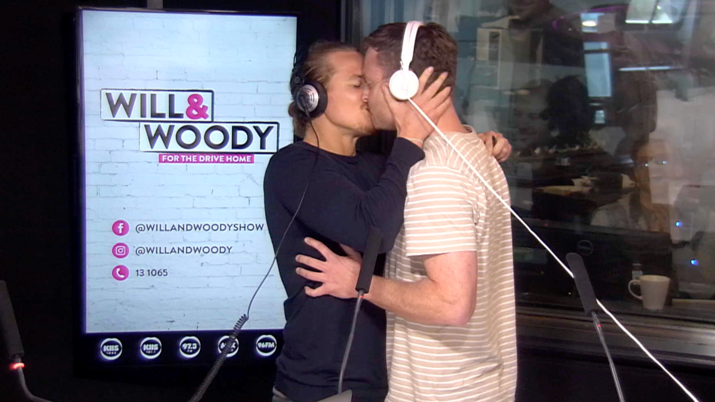 Woody Kisses A Listener Live On Air!