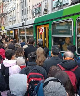 Melbourne's Entire Tram Network To Shut Down Again Today