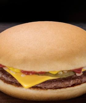 PAUSE THE DIET: McDonald's Is Slinging 50c Cheeseburgers On Sunday