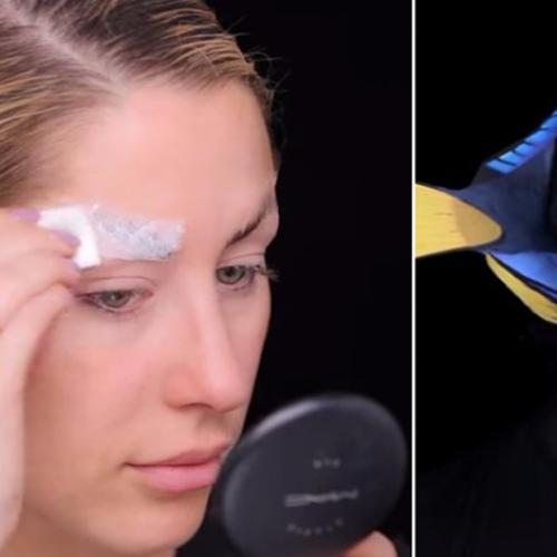 This Woman's Dory Makeup Transformation Is Beyond Amazing!!