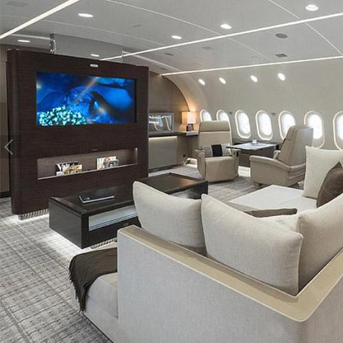 There's A New First Class Dream Jet With A Cinema On Board