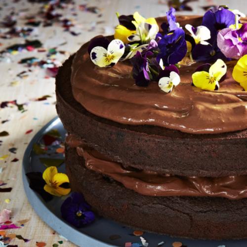 This Chocolate Cake Won't Make You Fat