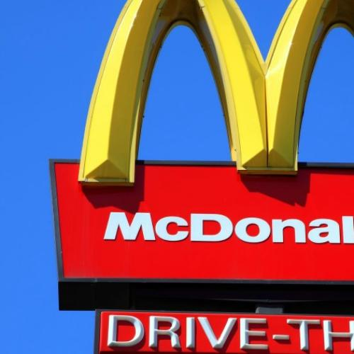 There's A Slightly Creepy Meaning Behind The McDonald's Logo