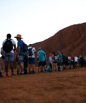 Tourists Race To Beat Uluru Climb Ban