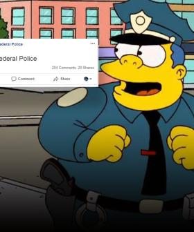 The Internet Is Totally Loving Australian Federal Police's Bizarre Facebook Post