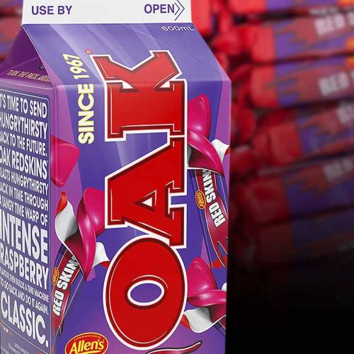 Oak's New Milk Flavours Are From An Straight-Up Aussie Lolly Bag