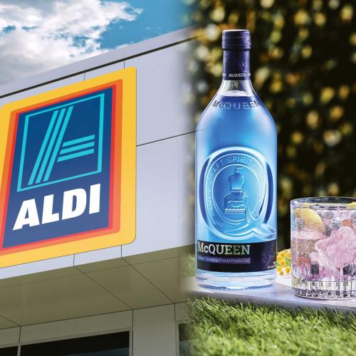 Aldi's Popular Colour Changing Gin Is Making A Comeback For Summer
