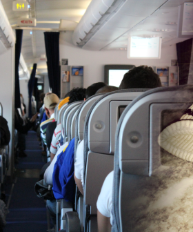 Disgusting Passenger Caught Airing His Dirty Laundry From A Plane Window
