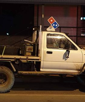This Ute Has To Be The Most Aussie Domino's Delivery Car Ever