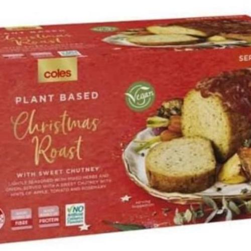 Coles Hits Peak Vegan With Plant-Based Christmas Roast