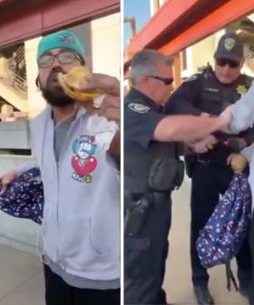 Black Man Arrested For Eating A Sandwich On Train Platform