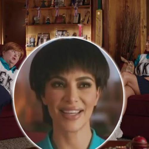 Kim Kardashian Has A Bowl Cut In BTS Video For Uber Eats Ad