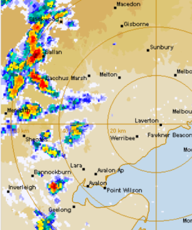 Severe Thunderstorm Warning Issued For Melbourne