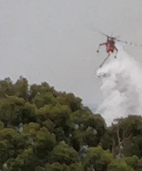 Melburnians Warned Of Increase Smoke Presence As Back-Burning Begins Following Major Fire
