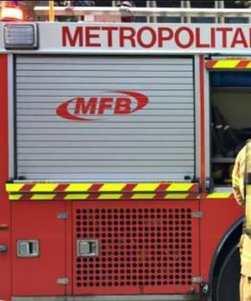 Authorities Already Face Two Fires In Melbourne This Morning As Heatwave Looms