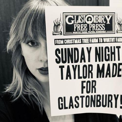 Book Your Flight To The UK NOW: Taylor Swift Is Headlining Glastonbury in 2020