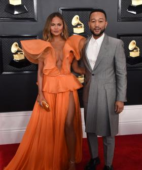 http://Chrissy%20Teigen,%20left,%20and%20John%20Legend%20arrive%20at%20the%2062nd%20annual%20Grammy%20Awards%20at%20the%20Staples%20Center%20on%20Sunday,%20Jan.%2026,%202020,%20in%20Los%20Angeles.%20(Photo%20by%20Jordan%20Strauss/Invision/AP)