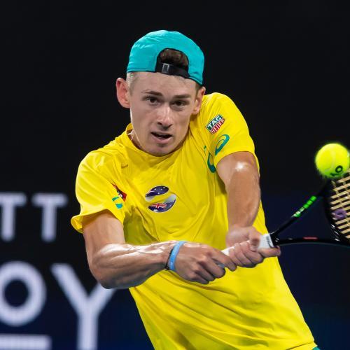 Injured Alex de Minau Pulls Out Of Australian Open