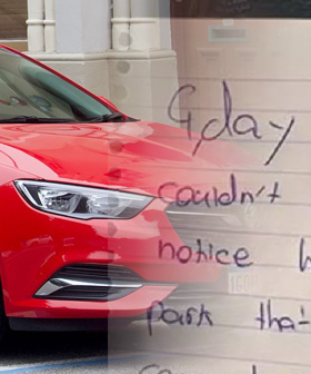 'G'day Cobba' The Hilarious Note Left On A Windscreen That Has An Even Better Response
