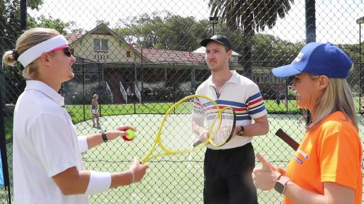 Which Celebrity Did Woody Bring To An Open Court Session?