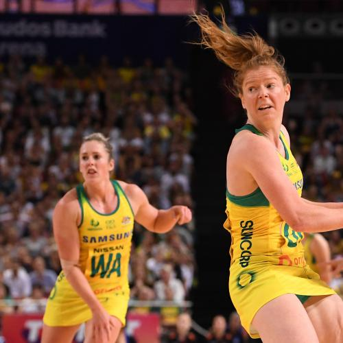 Australian Diamonds To Play Fire Charity Netball Game
