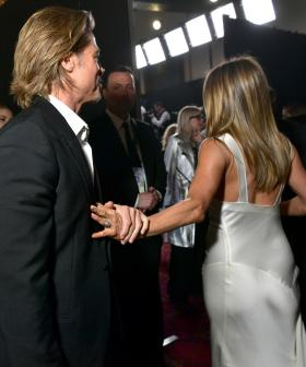 Brad Pitt and Jennifer Aniston Had The Sweetest Reunion At The SAG Awards