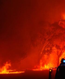 Heavy Rain Fails To Quell Raging Victorian Bushfires