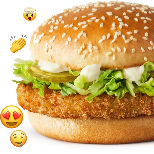 Macca's Launches McVeggie Burger Nationwide