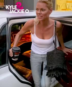 Sophie Monk couldn't get an Uber... So a limo was her plan B 😂